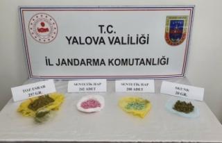 Yalova'da otele uyuşturucu götüren şüpheli gözaltına...