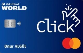"""""""Click Kart"""" ile anında alışveriş ve kazanma..."""