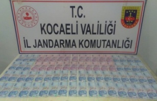 Kocaeli'de piyasaya sahte para sürmeye çalıştığı...