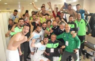 Kocaelispor Play-Off'ta
