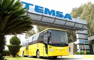 Temsa'dan Belçika'ya otobüs teslimatı