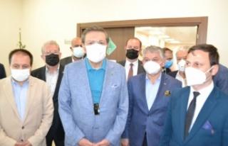 TOBB Başkanı Hisarcıklıoğlu İpsala Gümrük...