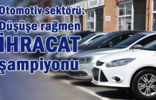 Türkiye otomotiv endüstrisi nisan ayında 2,5 milyar...