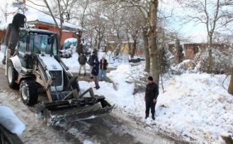 Kandıra'da buzlanmayla mücadele