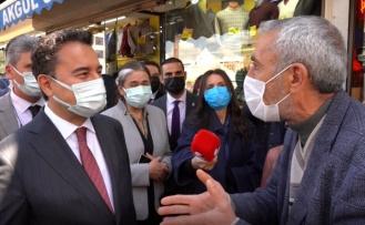"""Vatandaş Babacan'a dert yandı: """"Cehennemin dibine satsınlar!"""""""