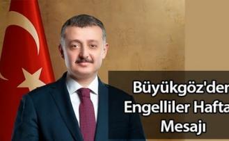 Kocaeli Büyükşehir Belediye Başkanı Büyükakın'dan Engelliler Haftası mesajı