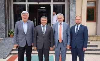 Karaosmanoğlu'ndan Başkan Şayir'e Hayırlı olsun ziyareti