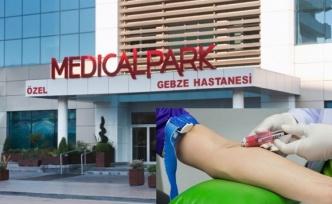 Gebze Medicalpark'ta 150 liraya kan tahlili