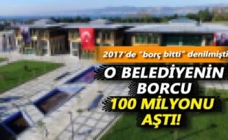 Başiskele Belediyesi'nin borcu 109 milyon lira
