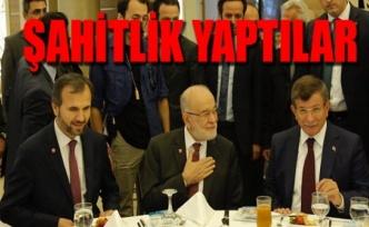 Ahmet Davutoğlu ve Temel Karamallaoğlu bir araya geldi!