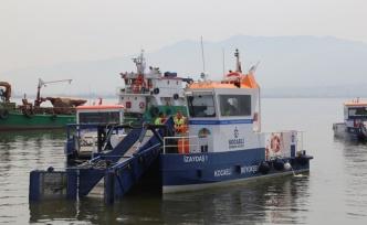 İZAYDAŞ, Körfez'den 1 yılda 380 ton çöp topladı