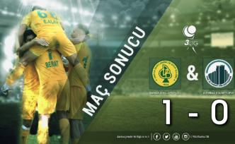 Darıca GB-Altındağ Belediye: 1-0