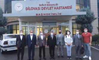 Dilovası Devlet Hastanesi'nin statüsü değişikliği için ilk adım atıldı!