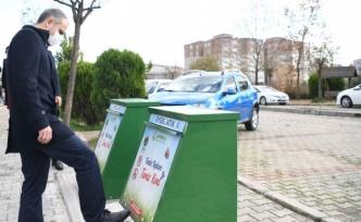 Çayırova'da Çöp konteynerleri yer altına alınıyor