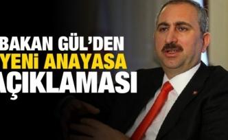 """Adalet Bakanı Gül'den """"Gara"""" ve """"yeni anayasa"""" açıklaması:"""