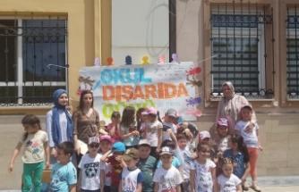 """Gebze Mustafa Paşa İlköğretimden """"Okul Dışarıda"""" etkinliği"""