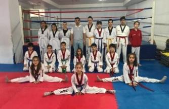 Sevindik Spor Taekwondo  2. Kuşak imtihanını tamamladı