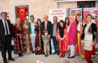 """""""Tarihim-Kültürüm- Mirasım"""" Final Sergisi Kırşehir 'de gerçekleşti"""