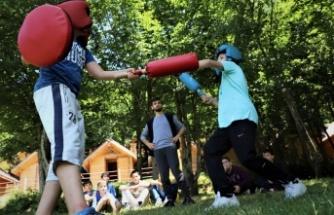 Diriliş Gençlik Kampları yaz sıcağını unutturuyor