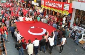 Gebze'de 15 Temmuz ve Milli Birlik Coşkusu