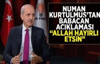 Kurtulmuş'tan  flaş Babacan açıklaması