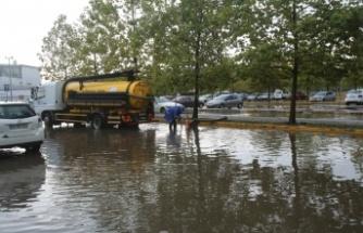 Şiddetli yağışta Büyükşehir teyakkuzda