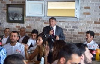 Başkan Şayir, Öğretmenlerle Buluştu