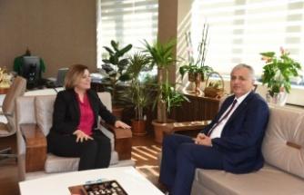 Kaymakam Cinbir'den Başkan Hürriyet'e İade-i Ziyaret