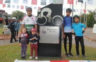 Milli Bisikletçi Hasan Sert, İzmit'te Anıldı