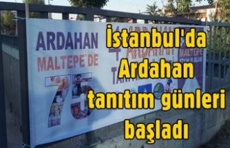 Ardahan'ı Tanıtma Günleri başladı