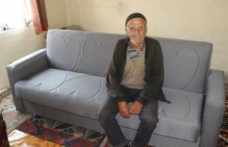 Büyükşehir'den Rıza Amca'ya yardım eli