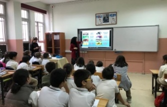 Kandıralı minik öğrencilere çevre eğitimi