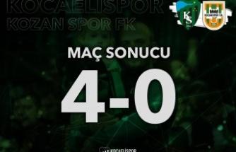 Kocaelispor'un zirve aşkı