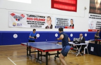 Masa Tenisi Cumhuriyet Kupasına büyük ilgi