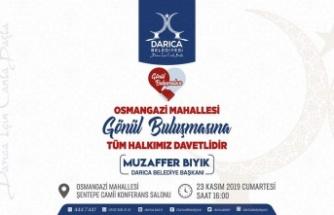Başkan Bıyık, Osmangazi'de halkla buluşacak