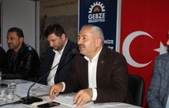 Başkan Büyükgöz Mustafa Paşa'yı dinledi