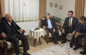 İYİ Parti'den şehit ailesine ziyaret