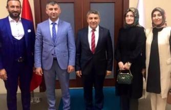 KAI Vakfı'ndan Başkan Şayir'e davet