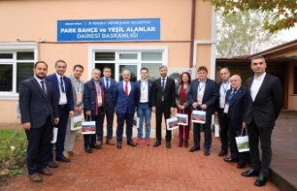 Kuzey Makedonyalı belediye başkanları Kocaeli'ye hayran kaldı