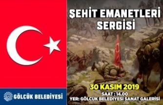 """""""Şehit Emanetleri Sergisi"""" Cumartesi günü"""