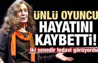 Usta Tiyatrocu Kenter Hayatını Kaybetti