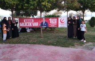Yeniden Refah Partisi Darıca'da Stand çalışması yaptı