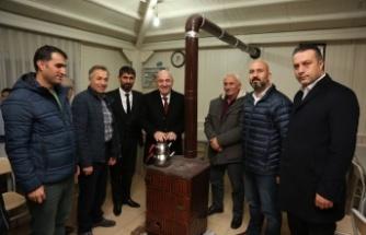 Başkan Bıyık Cemevi'nde birlik mesajı verdi