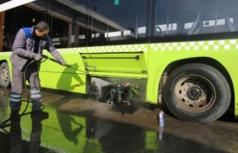 Büyükşehir otobüsleri kışa hazır