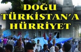 Dünya İnsan Hakları Gününe Doğu Türkistan'ın Gölgesi Düştü