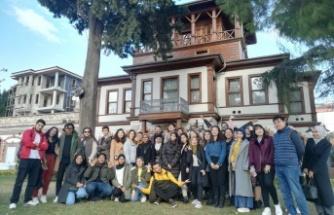 Erasmus öğrencileri Kocaeli'nin tarihini tanıdı