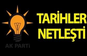 AK Parti'de ilçe kongre tarihleri netleşti