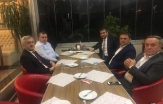 Başkan Turan'dan, Meslektaşı Kefli'ye ziyaret