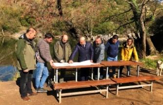 Ballıkayalar Tabiat Parkı yeni sezona hazırlanıyor