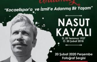 İzmit Belediyesi Kocaelispor Efsanesi Nasut Kayalı'yı anacak